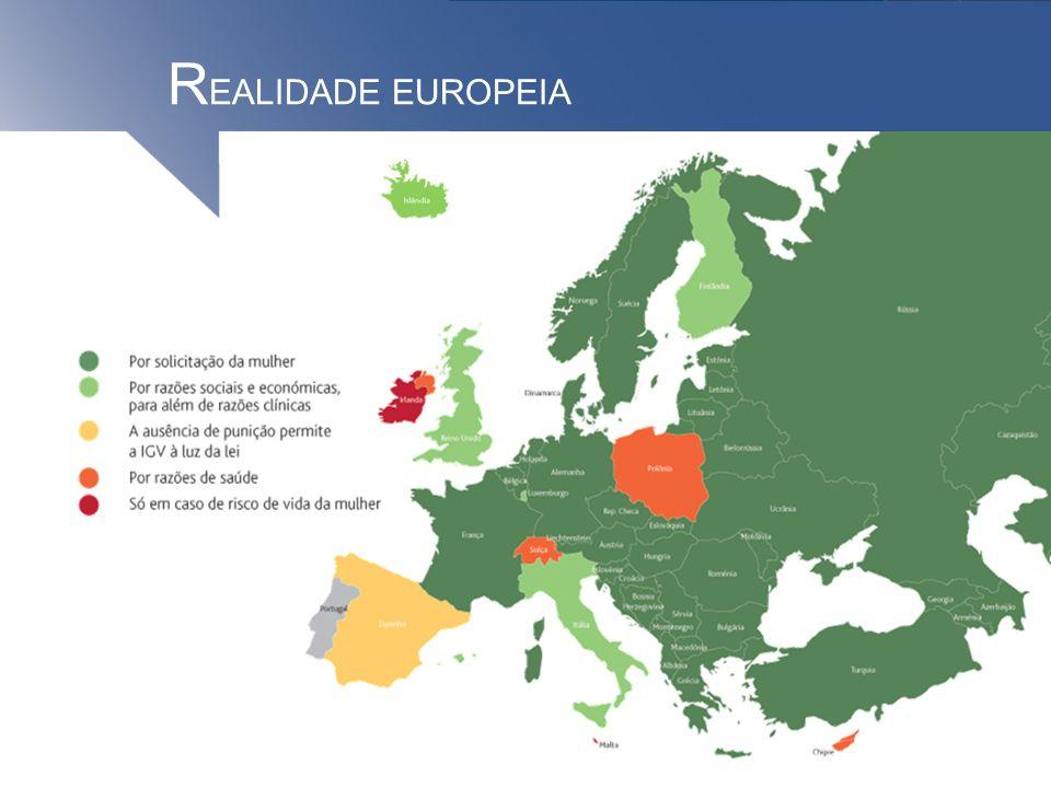 R EALIDADE EUROPEIA