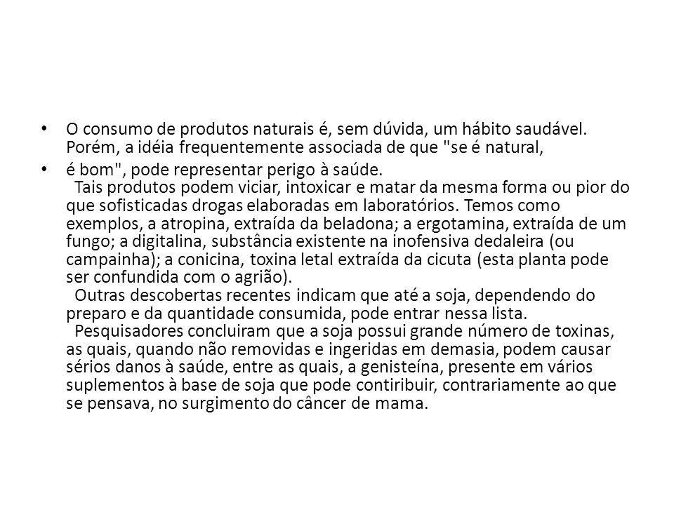 Curiosidade sobre o histórico da soja no Brasil