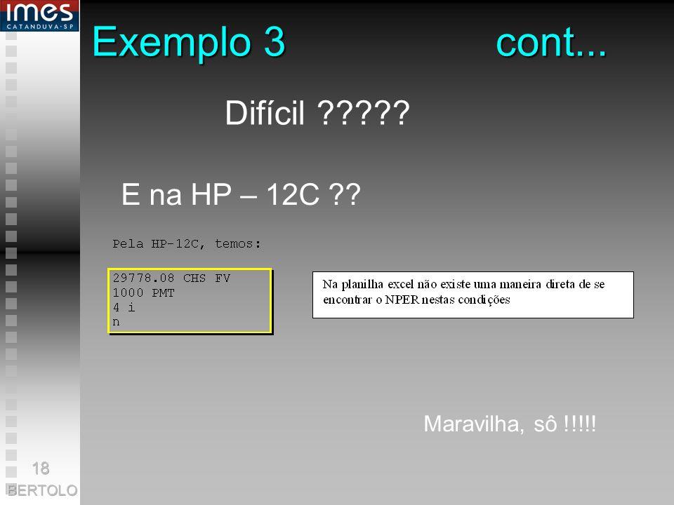 Exemplo 3cont... Quantos depósitos bimestrais de R$ 1.000,00 serão necessários para que, se a remuneração for de 4% a. b., se tenha R$ 29.778,08? SOLU