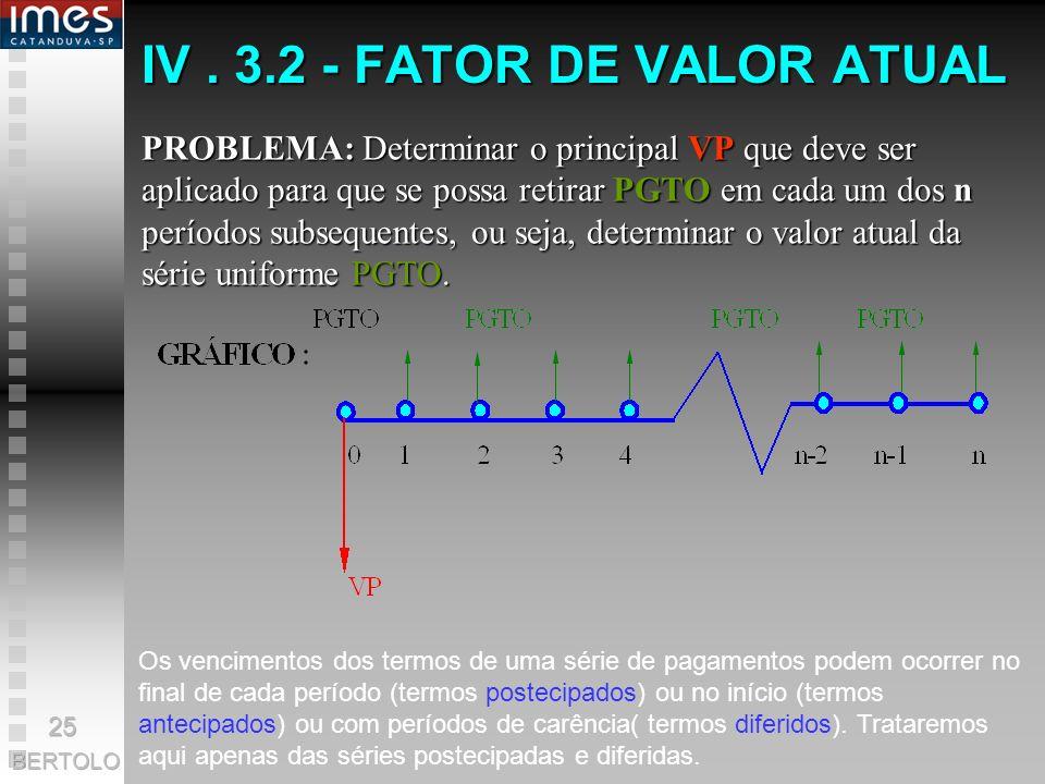 BERTOLO 2 34 5 $1.000 $943,40 x 1/1.06 5 $4.212,37 Valor Presente Total Tempo (anos) $1.000 x 1/1.06 4 x 1/1.06 3 x 1/1.06 2 x 1/1.06 $890,00 $839,62