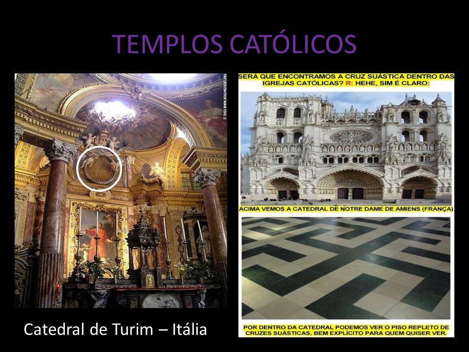 TEMPLOS CATÓLICOS Catedral de Turim – Itália