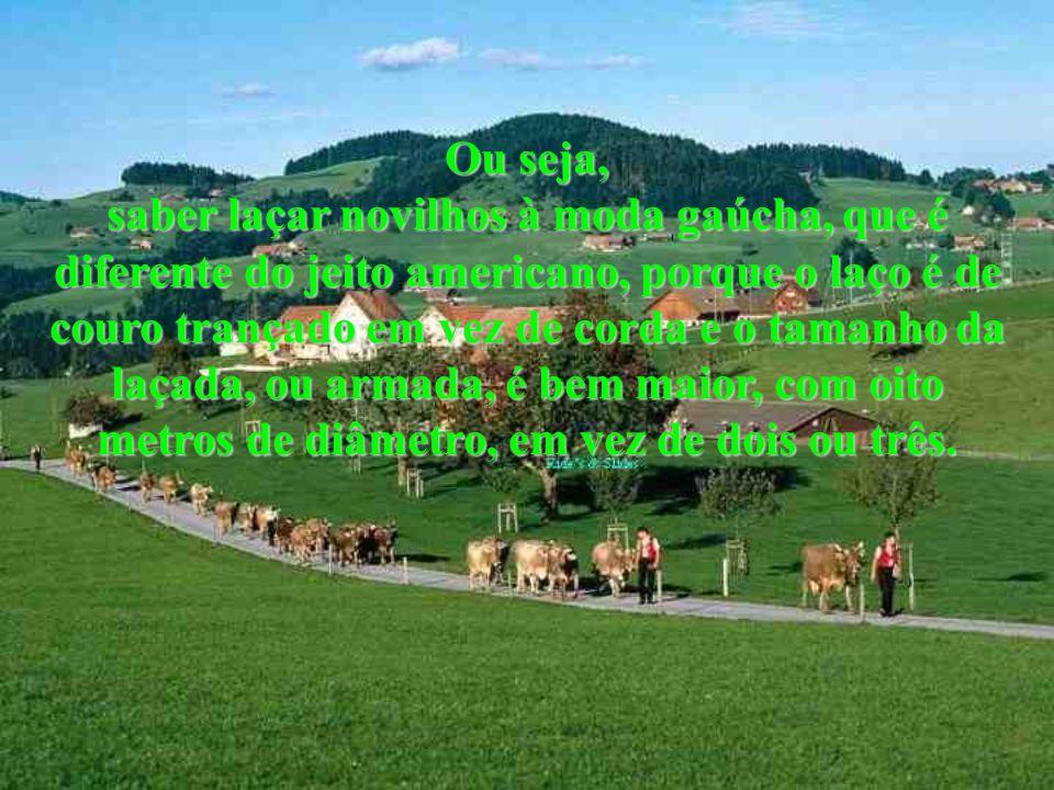 Todo gaúcho ama sua terra acima de tudo e está sempre a postos para defendê-la. Mesmo que tenha de pagar o preço em sangue e luta. Gaúcho que se preze
