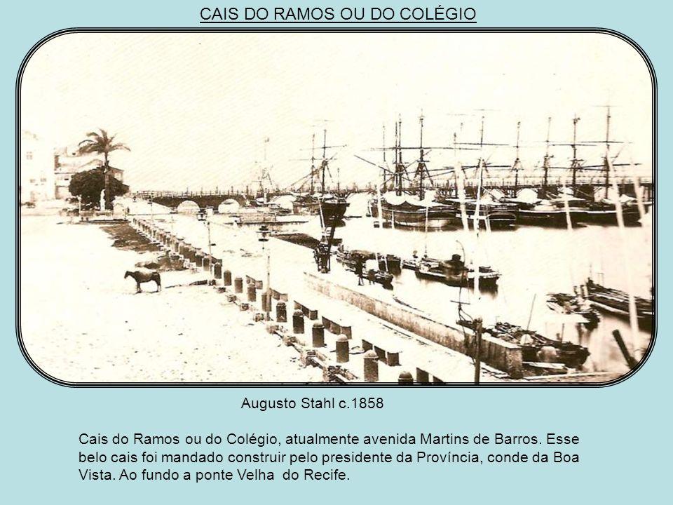 AS PONTES E O BAIRRO DO RECIFE João Ferreira Vilela A Ponte Sete de Setembro, o arco da Conceição, a Alfândega e a Igreja da Madre de Deus.