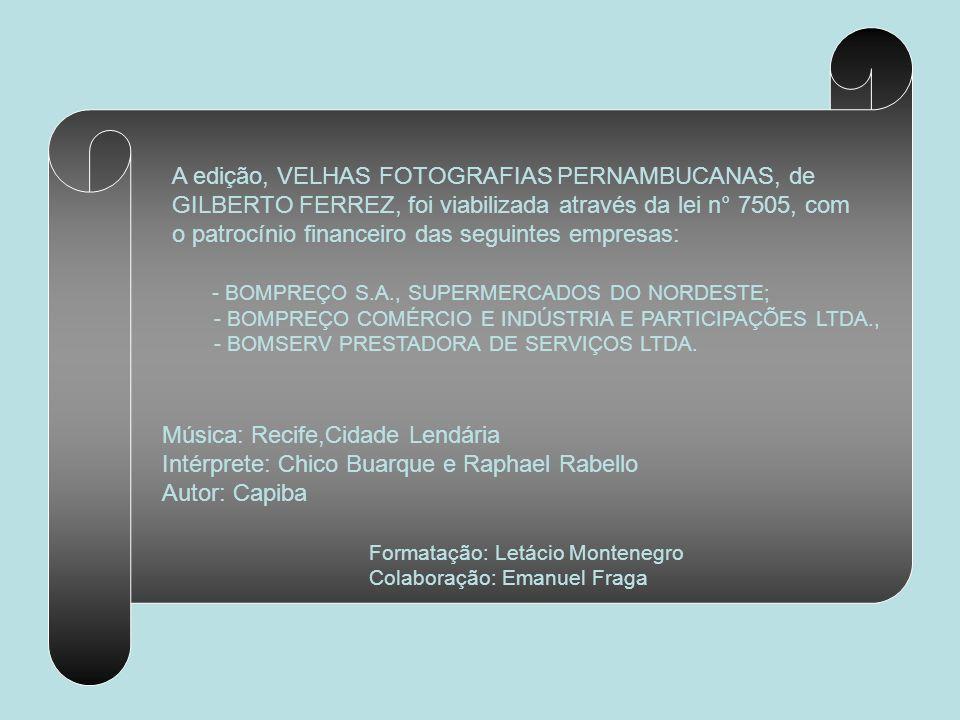 RUA DO IMPERADOR NO BAIRRO DE SANTO ANTÔNIO João Ferreira Vilela A rua do Imperador vista a partir da praça D. Pedro ll, atual praça Dezessete. Notar