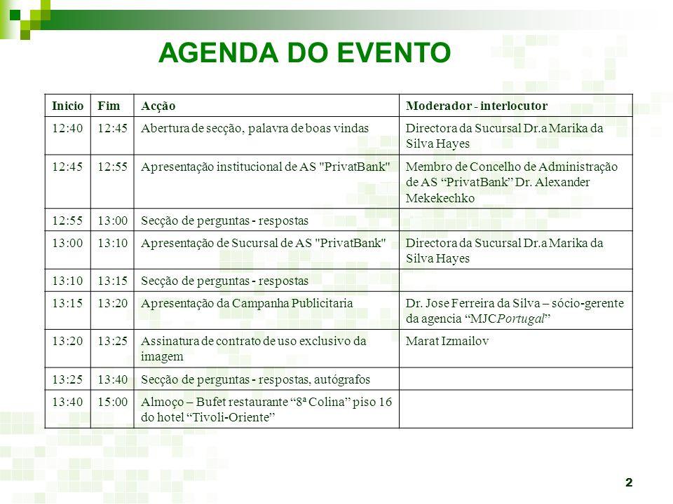 3 Branch in Portugal AS PrivatBank estabelecido em Lisboa desde 2007 AS PrivatBank - primeiro banco dos novos Estados-membros da União Europeia a abrir uma sucursal em Portugal