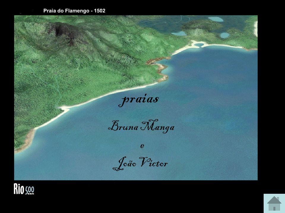 praias Bruna Manga e João Victor