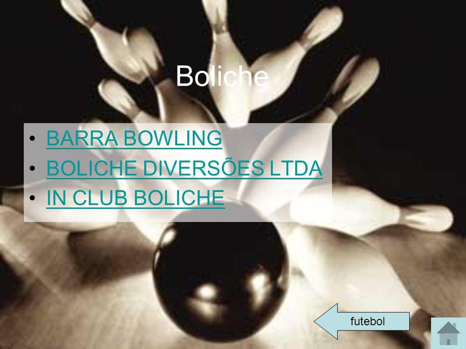 Boliche BARRA BOWLING BOLICHE DIVERSÕES LTDA IN CLUB BOLICHE futebol