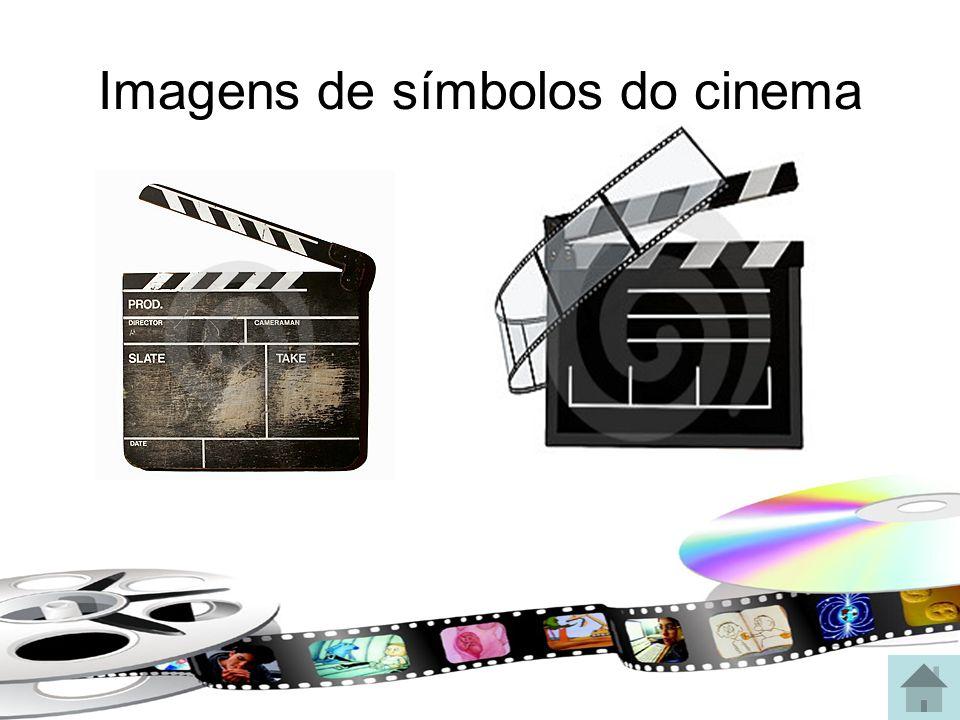Imagens de símbolos do cinema
