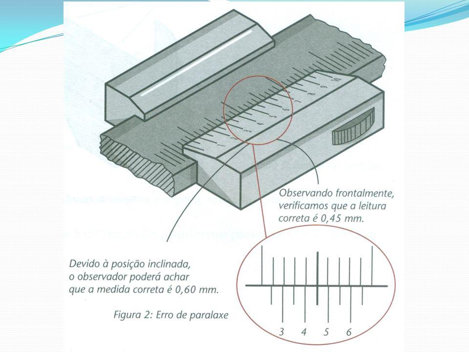 Como se pode observar, o paquímetro não é um bom recurso para medir furos de pequenos diâmetros com precisão.