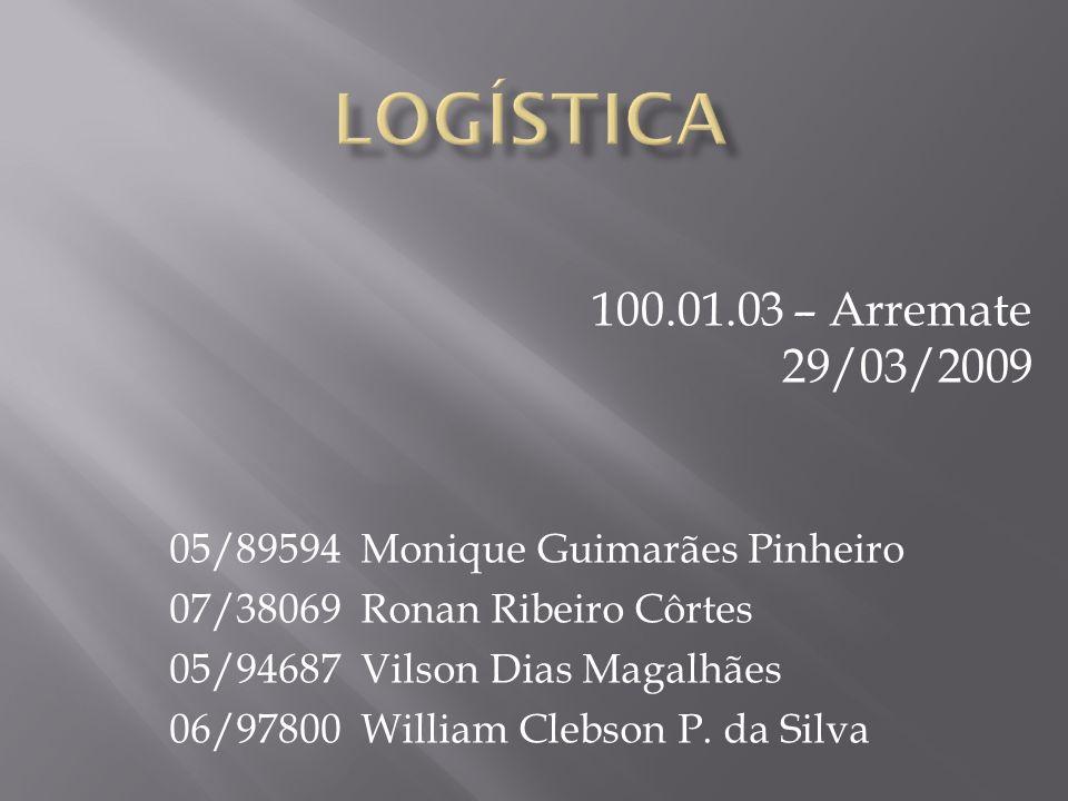 05/89594 Monique Guimarães Pinheiro 07/38069 Ronan Ribeiro Côrtes 05/94687 Vilson Dias Magalhães 06/97800 William Clebson P. da Silva 100.01.03 – Arre