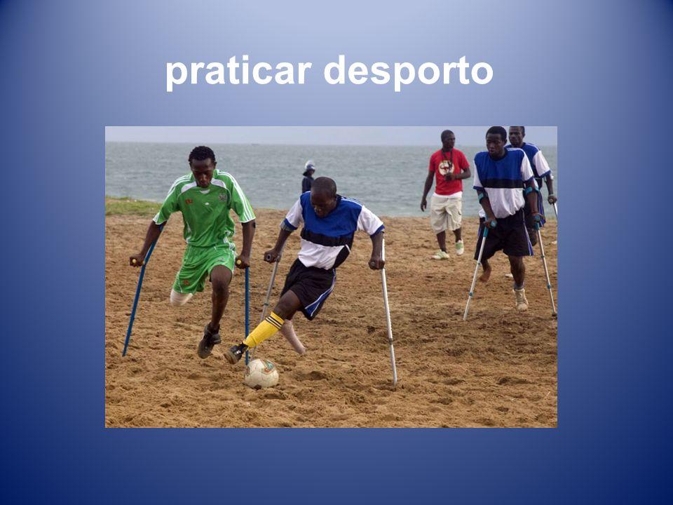 praticar desporto
