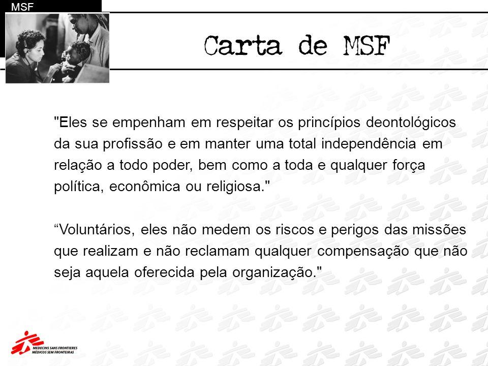 Catástrofes naturais Epidemias Conflitos armados Fome Doenças negligenciadas Exclusão Social MSF Eixos de atuação