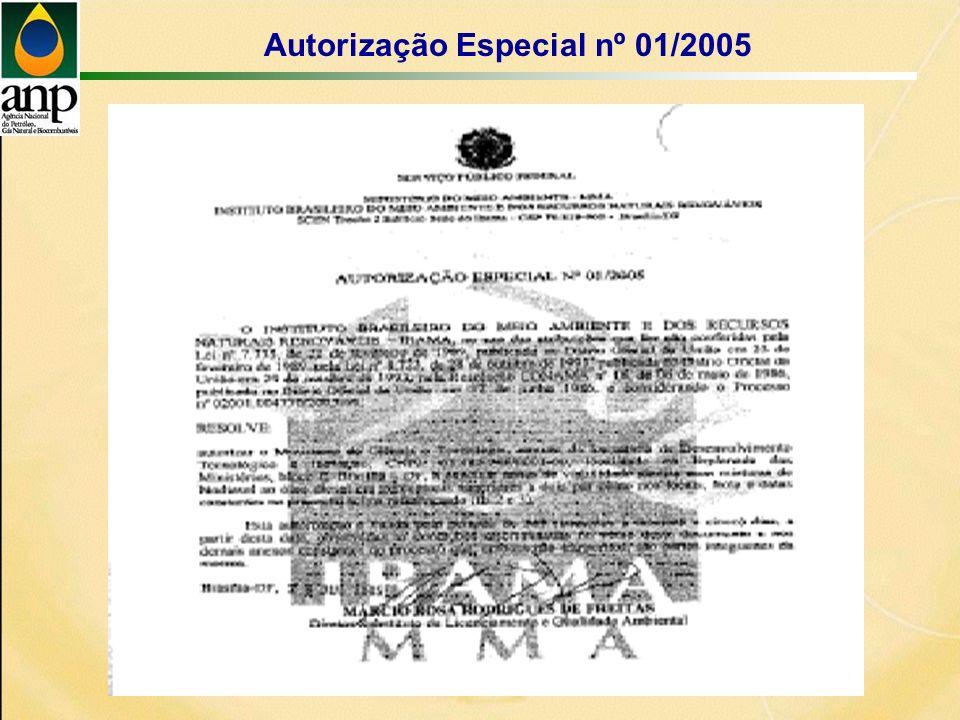 Autorização Especial nº 01/2005