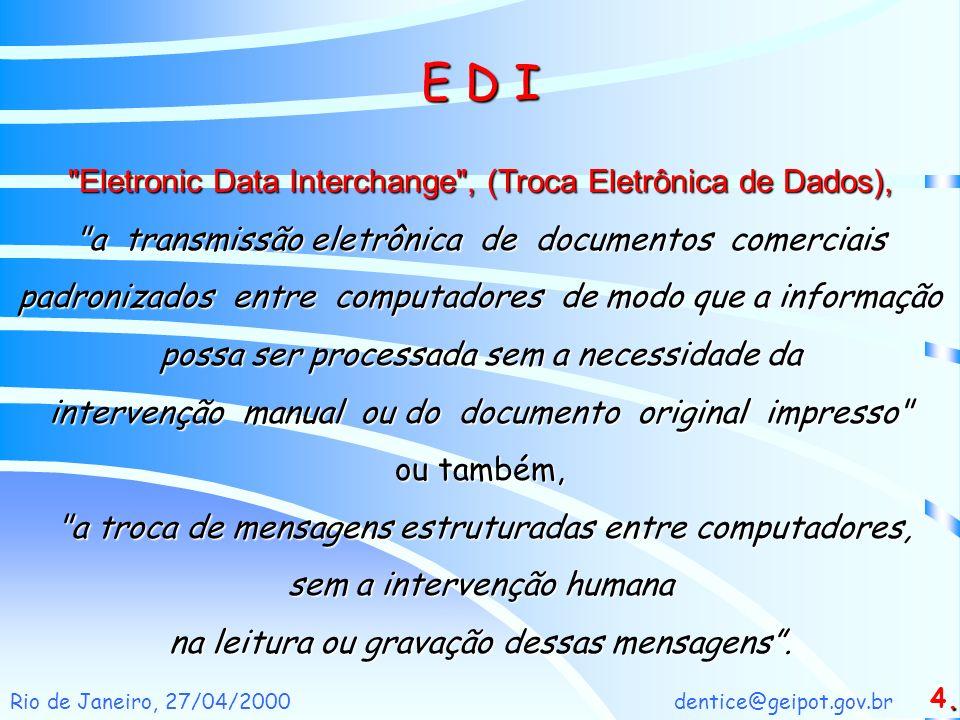 dentice@geipot.gov.brRio de Janeiro, 27/04/2000 E D I