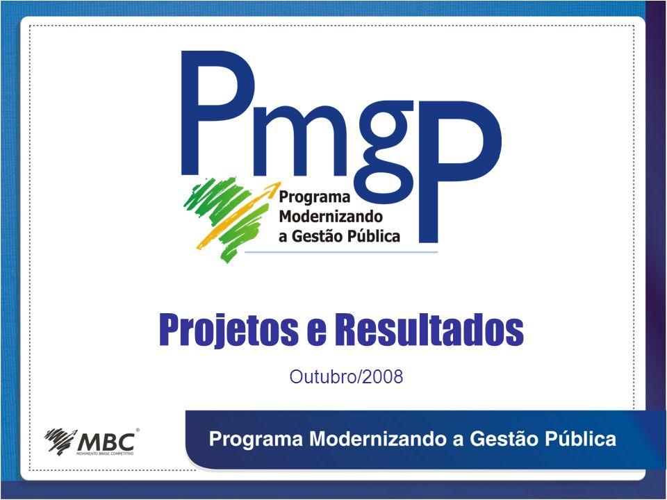 Projetos e Resultados Outubro/2008