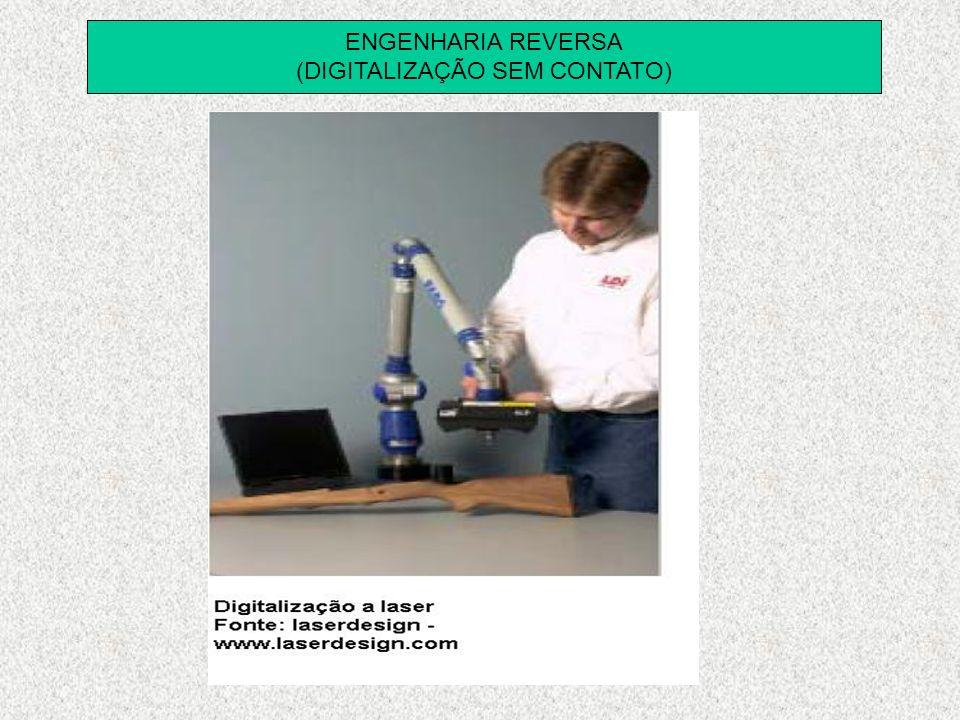 ENGENHARIA REVERSA (DIGITALIZAÇÃO SEM CONTATO)