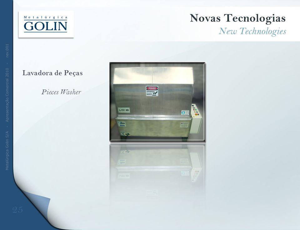 Lavadora de Peças Pieces Washer Novas Tecnologias New Technologies 25