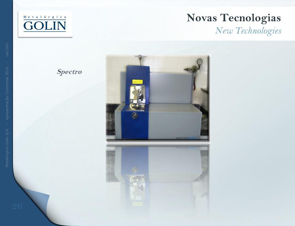 Spectro Novas Tecnologias New Technologies 26
