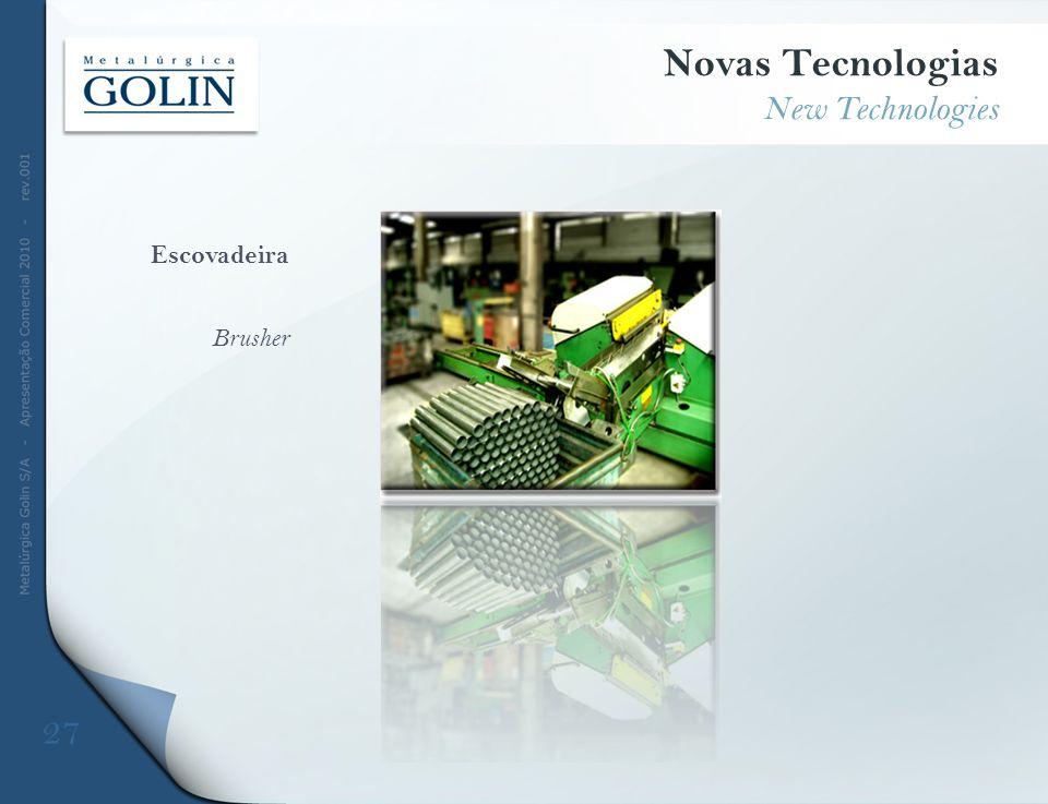Escovadeira Brusher Novas Tecnologias New Technologies 27