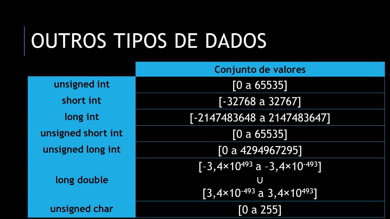DECLARANDO VARIÁVEIS #include [declare variáveis aqui: variáveis globais] int main() { [declare variáveis aqui: variáveis locais] return 0; }