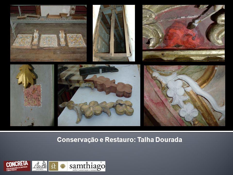 Conservação e Restauro: Pintura sobre Tela