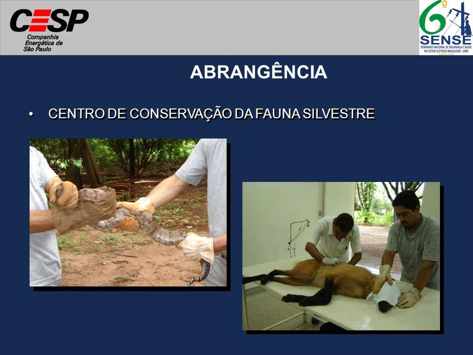 CENTRO DE CONSERVAÇÃO DA FAUNA SILVESTRECENTRO DE CONSERVAÇÃO DA FAUNA SILVESTRE ABRANGÊNCIA