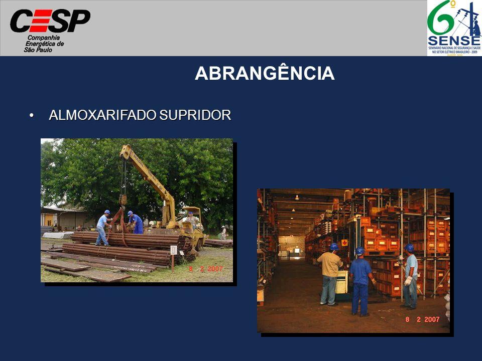 ALMOXARIFADO SUPRIDOR ABRANGÊNCIA