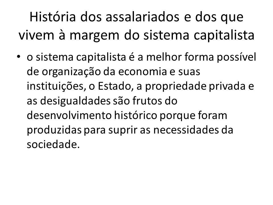 O autor optou por vislumbrar uma alternativa possível para os problemas gerados pelo capitalismo.