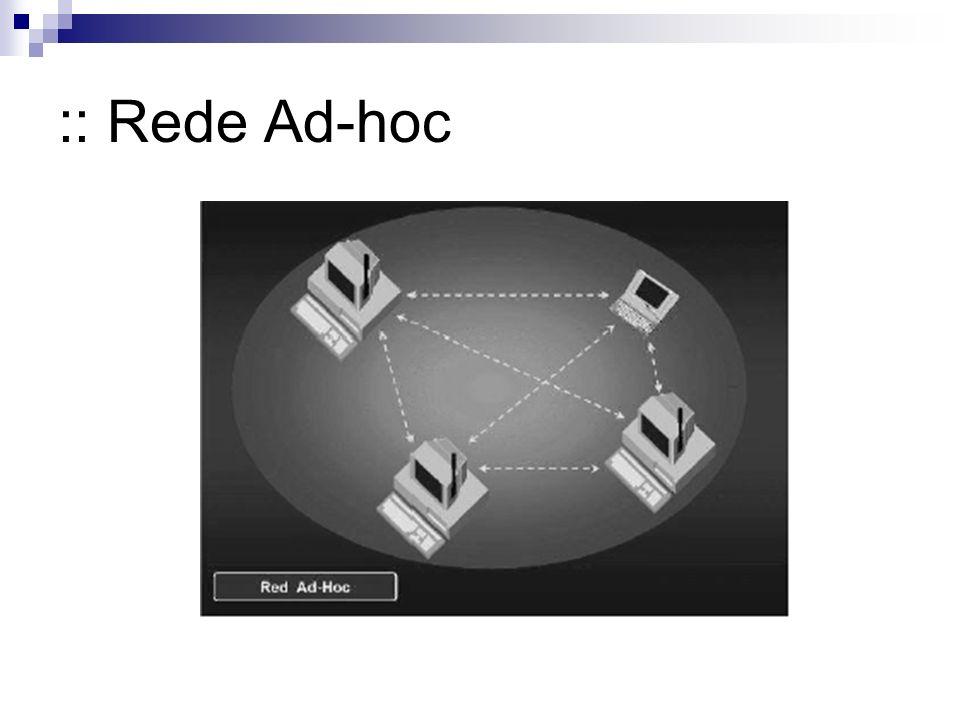 :: Rede Ad-hoc