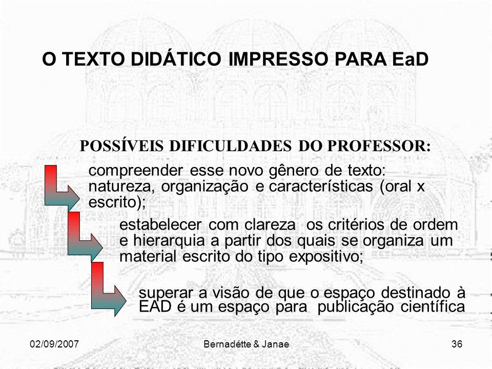 02/09/2007Bernadétte & Janae35 PARA CADA TIPO DE FESTA EXISTE UM TRAJE ADEQUADO; PARA CADA TIPO DE REUNIÃO EXISTE UM PROTOCOLO ORGANIZADO; PARA CADA T