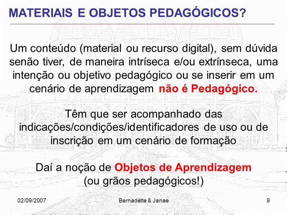 02/09/2007Bernadétte & Janae59 ESTRATÉGIAS DE PRODUÇÃO TEXTUAL dê preferência às frases curtas, na ordem direta (sujeito, verbo, complemento).