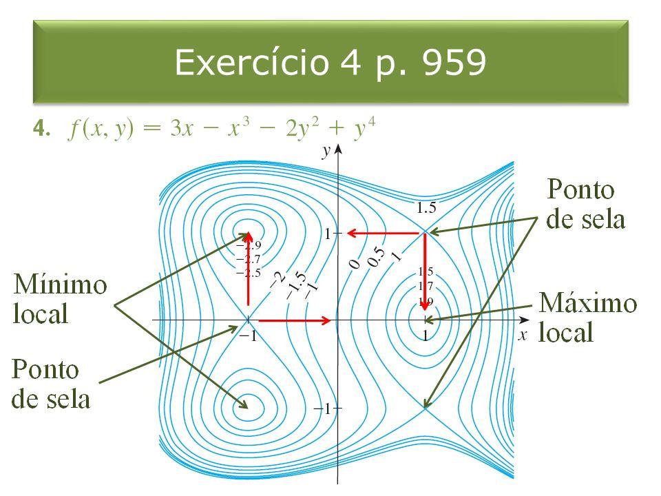 Exercício 4 p. 959