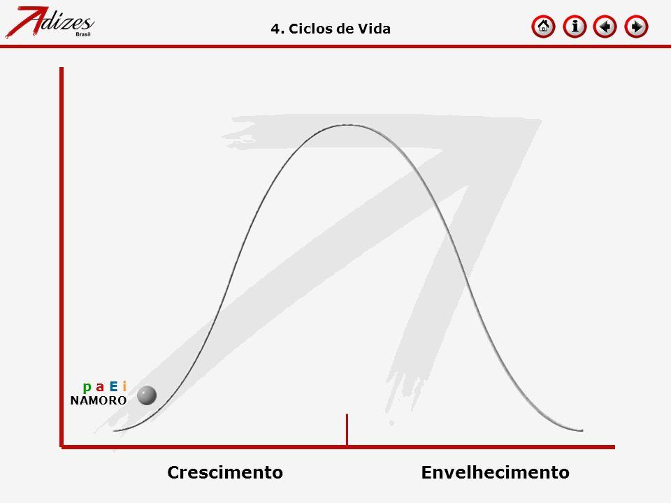 p a E i NAMORO 4. Ciclos de Vida CrescimentoEnvelhecimento