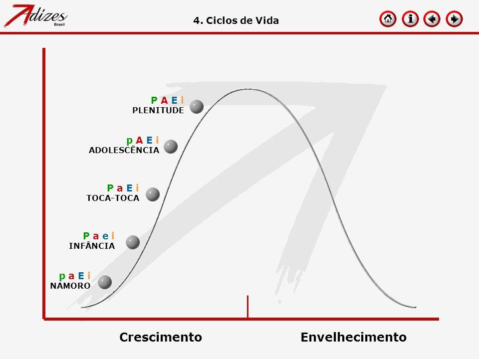 p a E i NAMORO 4. Ciclos de Vida P a e i INFÂNCIA P a E i TOCA-TOCA p A E i ADOLESCÊNCIA P A E i PLENITUDE CrescimentoEnvelhecimento