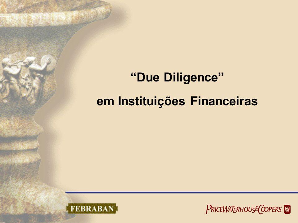 Due Diligence em Instituições Financeiras