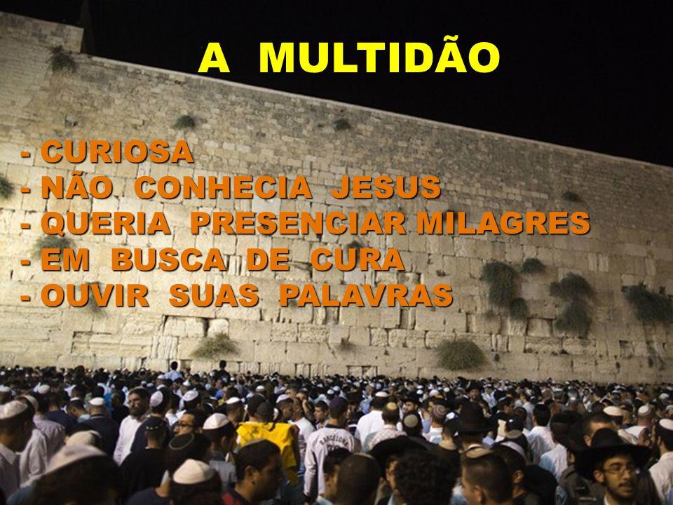 O Senhor Jesus andava evangelizando por onde ia e o povo via o seu poder