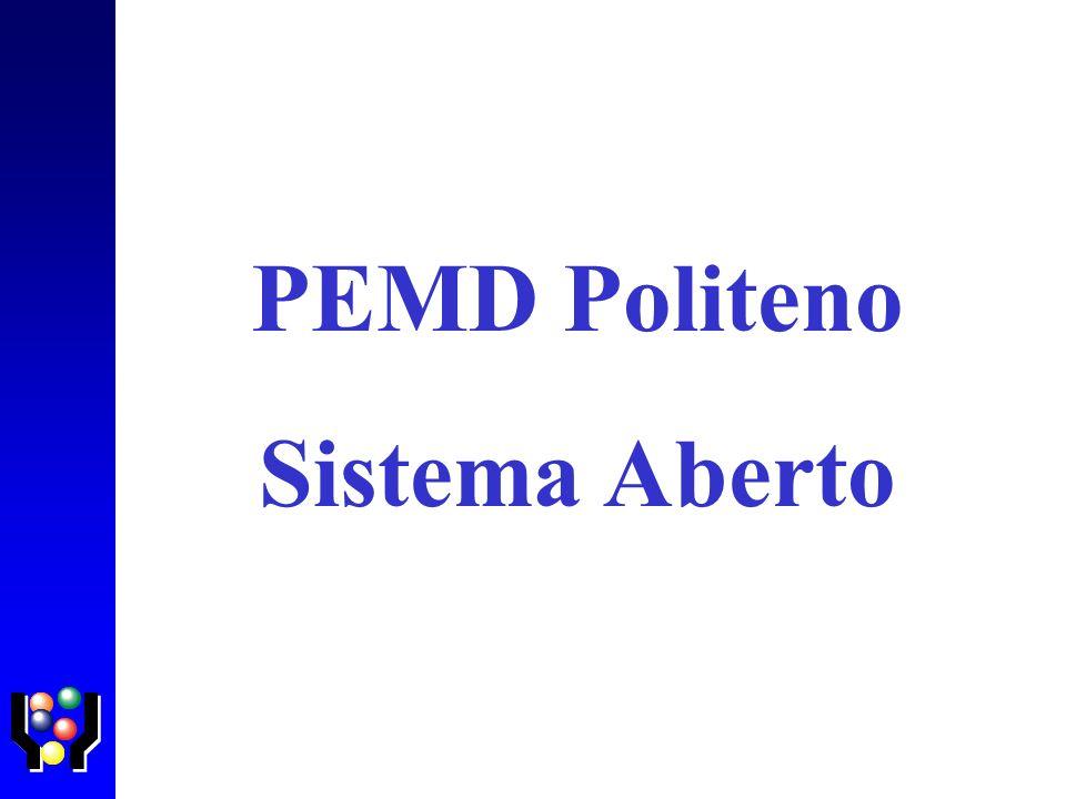 PEMD Politeno Sistema Aberto