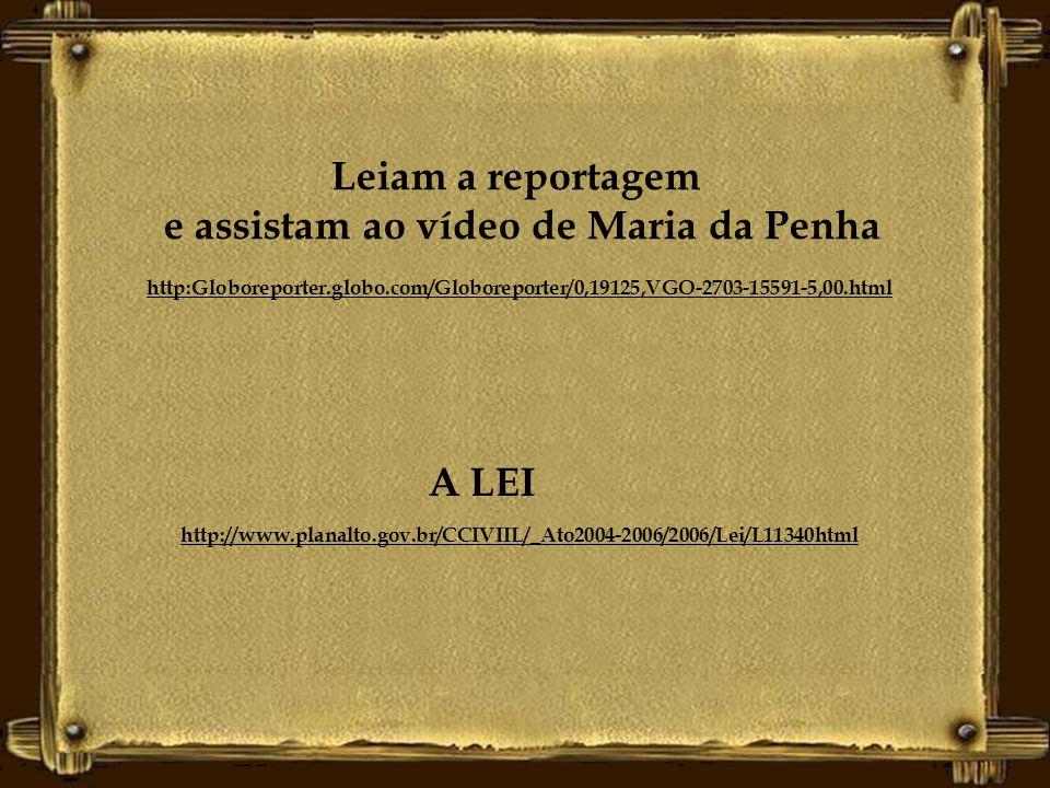 Formatação Leila Marinho Lage http://www.clubedadonameno.com Após as tentativas de homicídio, Maria da Penha Maia começou a atuar em movimentos sociai