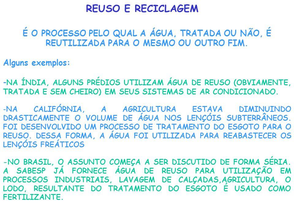 CONAMA E MS A resolução nº 20 do CONAMA- considera ser a classificação das águas doces, salobras e salinas como essencial à defesa de seus níveis de q