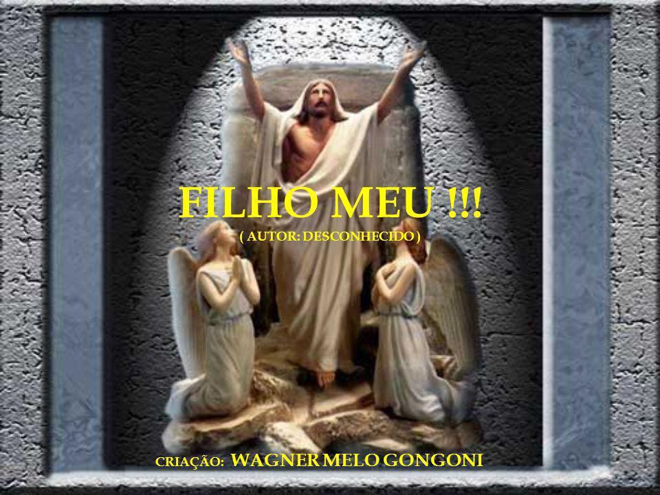 FILHO MEU !!! ( AUTOR: DESCONHECIDO ) CRIAÇÃO: WAGNER MELO GONGONI