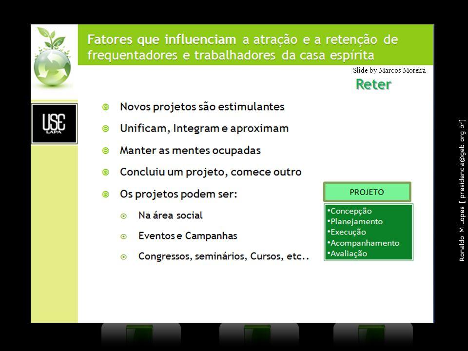 Ronaldo M.Lopes [ presidencia@geb.org.br] Slide by Marcos Moreira 16