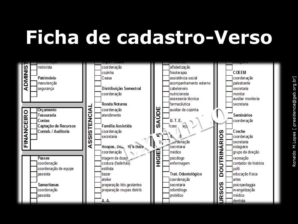 Ronaldo M.Lopes [ presidencia@geb.org.br] Ficha de cadastro-Verso 50