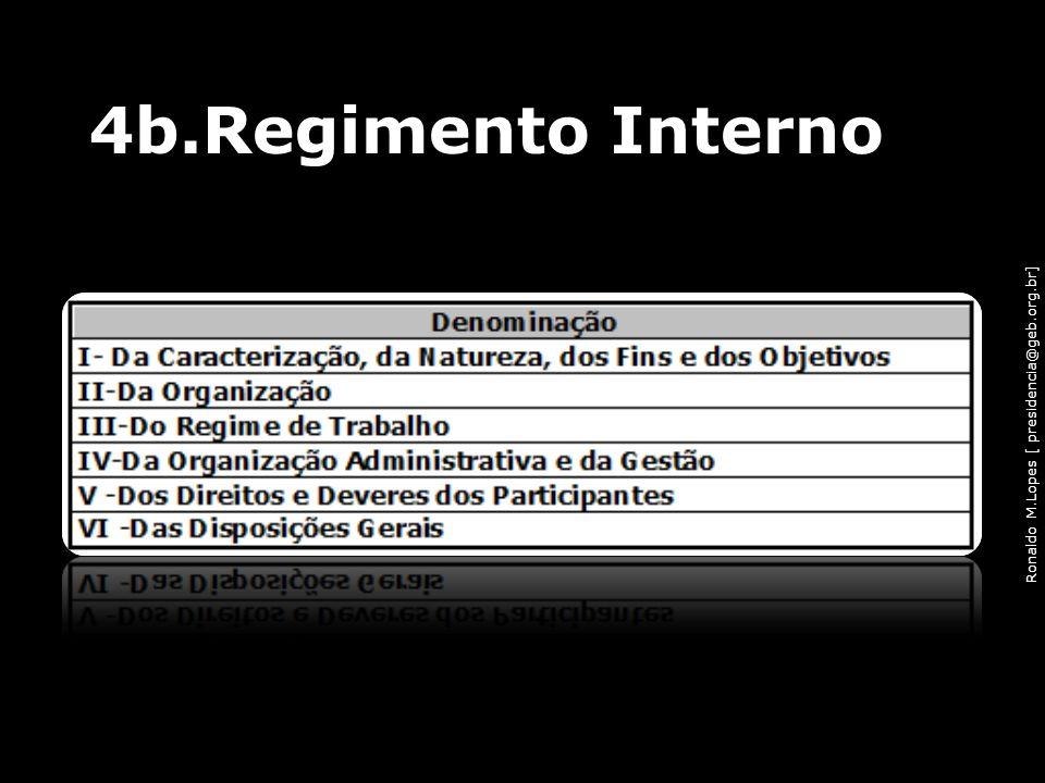 Ronaldo M.Lopes [ presidencia@geb.org.br] 4b.Regimento Interno 54