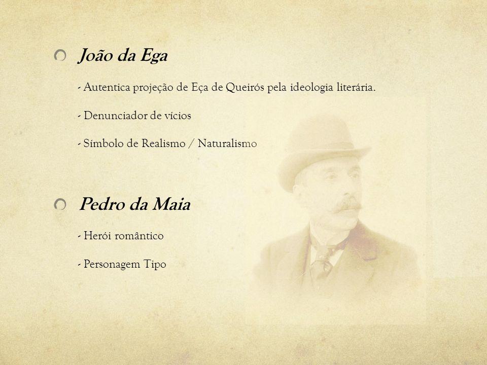 Afonso da Maia: Símbolo de: - Liberalismo (na juventude).