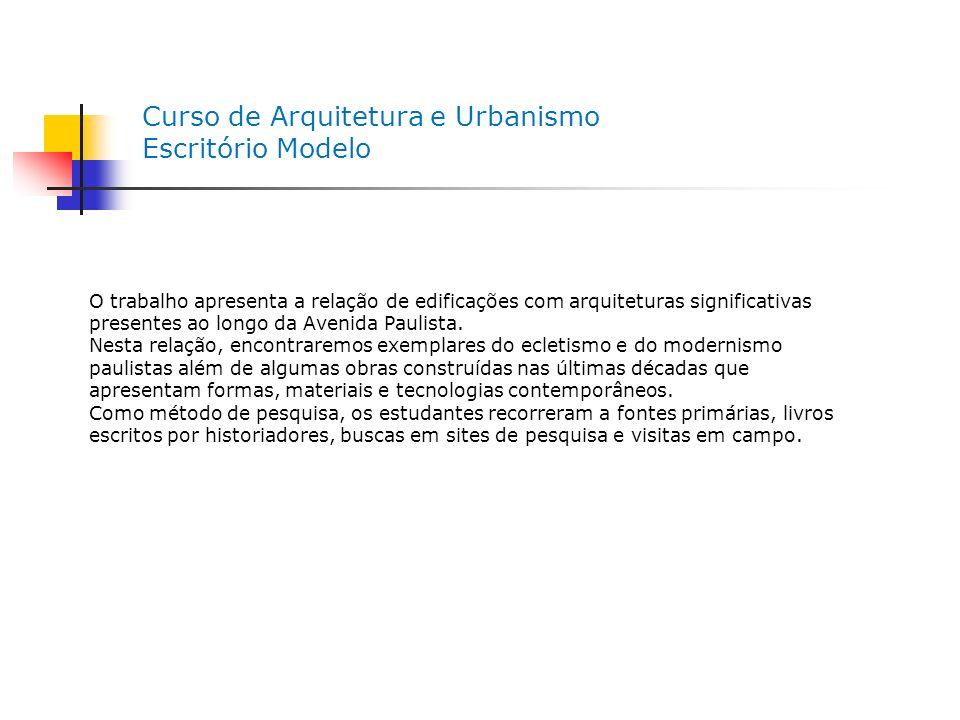 Bibliografia FABRIS, Annateresa.Ecletismo na Arquitetura Brasileira.