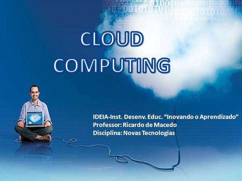 1997 – A NetCentric tenta registrar sem sucesso uma marca com o nome cloud computing O TERMO CLOUD COMPUTING