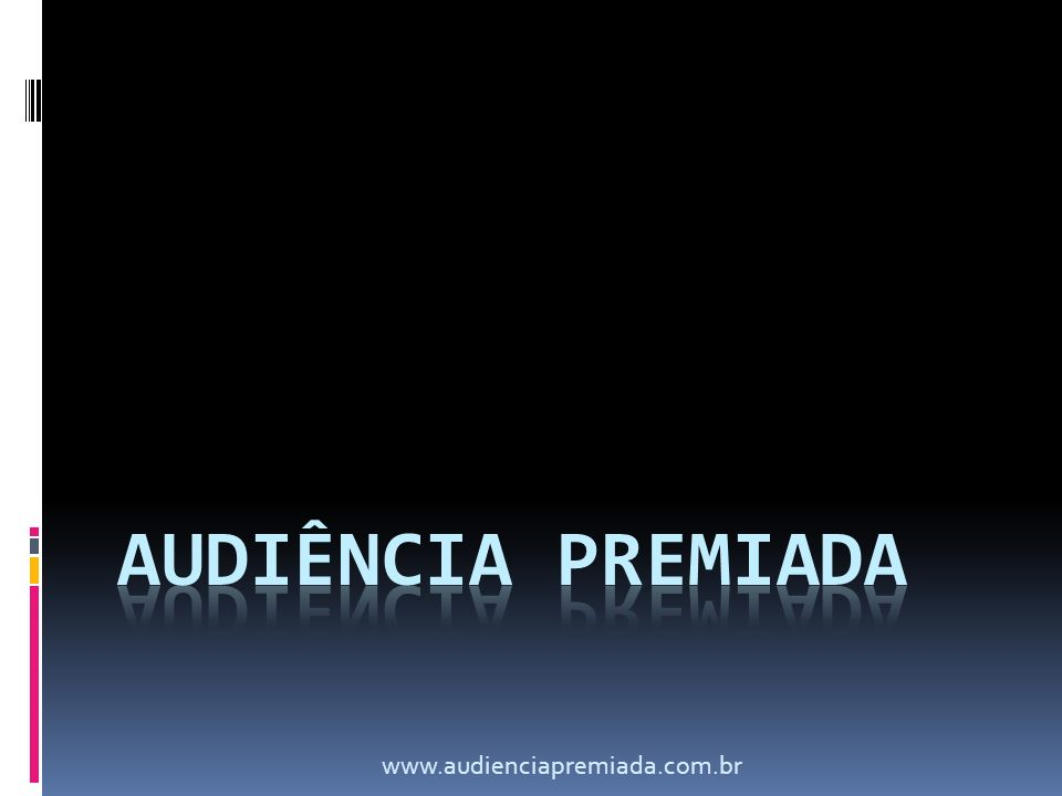 PREMISSAS O telespectador não ganha nada ao assistir um comercial; Dificuldade dos anunciantes em qualificar audiência - Quanto custa uma pesquisa tradicional de QUALIFICAÇÃO de audiência no mercado .