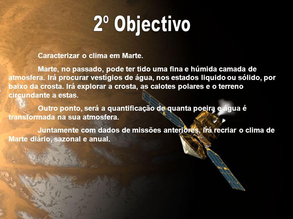 Determinar se já despontou vida em Marte. Com os novos conhecimentos revelados pelos ROVERS, que concluíram da existência passada de grandes massas de