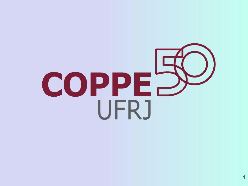 12 Cooperação COPPE - PETROBRAS 1977 - Estruturas Offshore (foco inicial da cooperação) 1984 - Controle e Robótica 1989 - Lab.