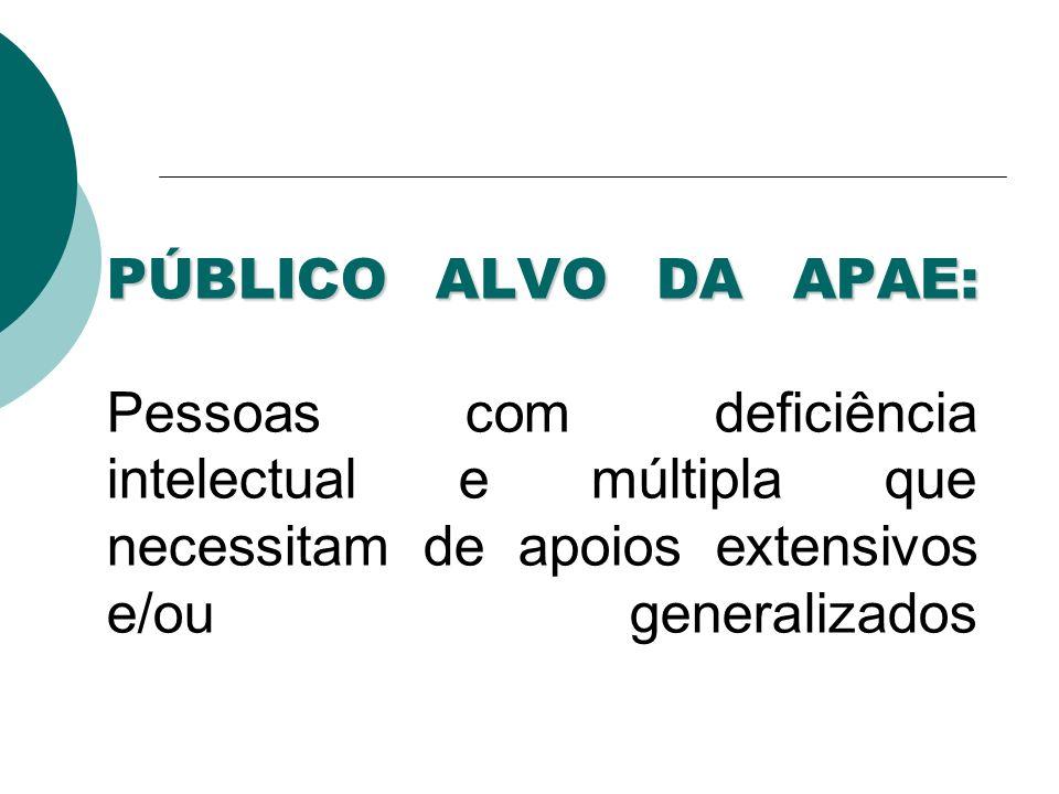 A APAE OFERTA: PROTEÇÃO SOCIAL BÁSICA PROMOÇÃO DA DEFESA DE DIREITOS JÁ ESTABELECIDOS ATRAVÉS DE DISTINTAS FORMAS DE AÇÃO E REIVINDICAÇÃO NA ESFERA POLÍTICA E NO CONTEXTO DA SOCIEDADE (conforme Resolução nº 109, de 11/11/2009 do CNAS) PROTEÇÃO SOCIAL ESPECIAL DE MÉDIA COMPLEXIDADE HABILITAÇÃO E REABILITAÇÃO PARA PESSOAS COM DEFICIÊNCIA (Conforme Resolução nº 34 de 28/11/2011 do CNAS)
